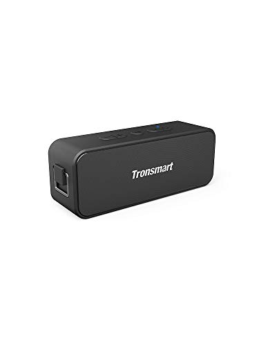 Bluetooth Speakers, Tronsmart T2 Plus 20W Outdoor Waterproof Speakers Bluetooth 5.0, IPX7 Portable Wireless Speakers, 24-Hour Playtime, TWS, Built-in Mic