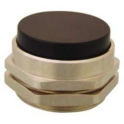 Blue Black Shown 30 mm Clippard PC-5E-BL Extended Captivated Push Button