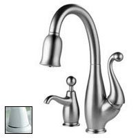 Good Delta 63500 WHSD Brizo Floriano Single Handle Pull Down Kitchen Faucet With  Soap Dispenser