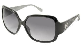 Michael Kors 2748 001 Black Zuma Rectangle Sunglasses