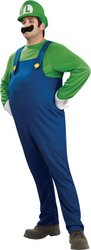 Deluxe Luigi Costume - Small - Chest Size 34-36