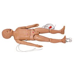 Multipurpose Patient Care and CPR Pediatric Simulator - One-year Old Manikin