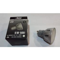 BOMBILLA LEDS MATEL GU10 5W 6400K LUZ FRIA 500LM
