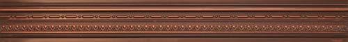 cm 03 Antique Copper Faux Tin PVC Decorative Cornices Crown Molding PVC, Plastic, Lightweight (Cornice Crown Molding)