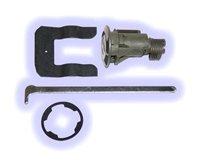 Ford / Lincoln / Mercury Rear Lock (Boot, Hatch, Trunk, Deck), Coded Lock with Keys, ASP# B-42-105, TL1552, B42105, TL1552
