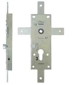 Cerradura acorazable para puertas basculantes con 4 puntos de cierre: Amazon.es: Bricolaje y herramientas