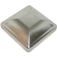 FULL 4x4 Heavy Duty Galvanized Post Cap (Inside Dimension is 4 in. x4 in.)