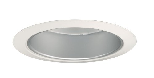 Juno Lighting Group 204HZ-WH 5-Inch Downlight Cone, White Trim with Haze,