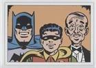 Batman; Robin; Alfred (Trading Card) 2008 Rittenhouse Batman: Archives - Retro 1940 Batman Gum ()
