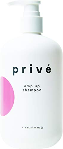 Privé Amp Up Shampoo (16 Fluid Ounces / 473 Milliliters) - Infuse Hair With Weightless Volume, Unparalleled Body and Overall Fullness