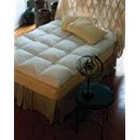 Luxury Baffled Box Featherbed by Pacific Coast Feather