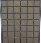 Santa Fe Classic Dehumidifier 16 x 20'' Foam Pre-Filter 4021468 - 12 pack by Santa Fe or SaniDry