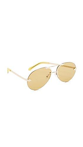 Karen Walker Women's Love Hangover Sunglasses, Marigold/Marigold, One - Hangover Sunglasses The