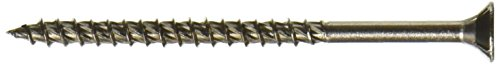 The Hillman Group 41969 Star Drive Stainless Steel Outdoor Wood Screw  10 Inch X 3 Inch  25 Pack