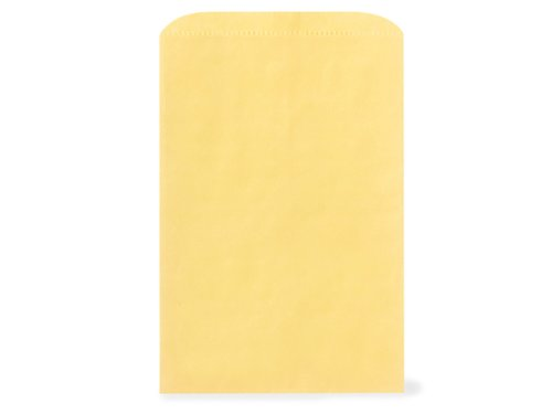 Pack of 500, Solid Sunrise Yellow Merchandise Bag 12 x 2.75 x 18'' Great for Apparel, Linens & Large Merchandise