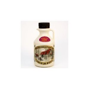 All Natural, 100% Pure, B Grade, Maple Syrup, 16 Oz. (Pint)- Case of 12 by Sleeping Bear Farms