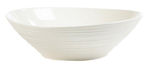 (Mikasa Swirl White Pasta Bowl, 9.5-Inch)
