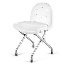 INVACARE CORPORATION Folding Shower Chair with Back QTY: 1
