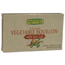 Rapunzel Organic Vegetable Bouillon; With Sea Salt (12x2.97oz)