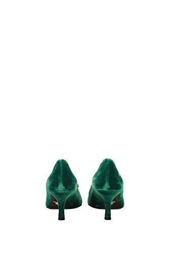 Prada Femme Prada Vert 1I722HVELLUTOJEWELS Femme 1I722HVELLUTOJEWELS EU Velours Talon Femme Talon Velours Talon EU Prada Velours Vert wSxXvxqp