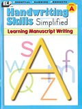 Handwriting Skills Simplified: Learning Manuscript Writing,  Level A (Grade 1)