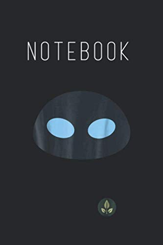Face Art Halloween Man (Notebook: Disney Pixar Walle Eve Face Halloween Graphic Lined Notebook Journal for Kid Men and Women to Write in Blank Cover Arts Rule Lined College Grid Notebook 120 Pages to)