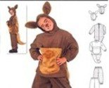 [Burda 2762 Sewing Costume Pattern, Kangaroo, Child Size 4 to 9] (Childrens Kangaroo Costume)
