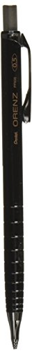 Pentel Orenz Mechanical Pencil 0.5Mm Fine Line, Black Barrel, Pack of 1 (PP505BP)