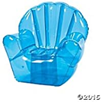 Large Inflatable Blue Chair