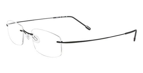 Airlock Airlock 720/40 Eyeglasses 038 Satin Black 53 21 - Airlock Eyeglasses