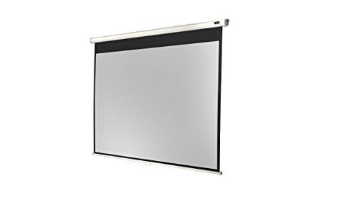 Celexon Rolloleinwand Economy | Format 4:3 | Nutzfläche 220 x 165 cm | Beamerleinwand geeignet für jeglichen Projektortyp | Auch als Full-HD und 3D Leinwand einsetzbar | einfache Installation & gute Planlage |