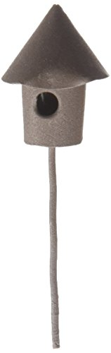 (Midwest Design Mini Iron Garden Birdhouse, 3