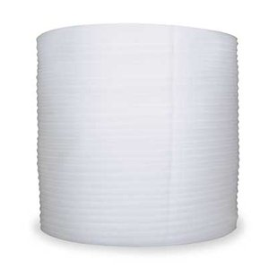 Foam Roll, White, 24 In. W, 450 ft. L by Pregis
