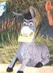 McDonalds Happy Meal Shrek Forever After Donkey Toy Figure #1