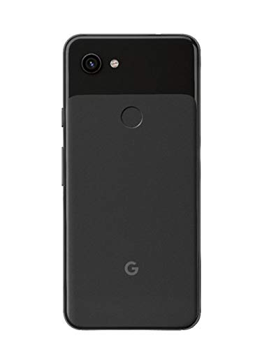 Google Pixel 3a G202G with 64GB Memory Cell Phone (GSM Unlocked) - Just Black (Renewed)