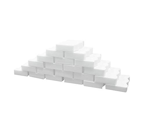 70Pack Magic Cleaning Eraser Sponge Melamine Foam,2X Stronger Lasting High Density, Just Add Water, Cleaning Pads Universal Cleaner for Kitchen 4.3 x 2.8 x 0.8