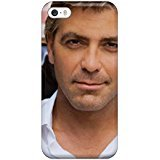 Anti-scratch And Shatterproof George Clooney Phone Case For Iphone 5/5s/ High Quality Tpu Case