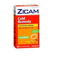 Zicam Cold Remedy Directions - 2