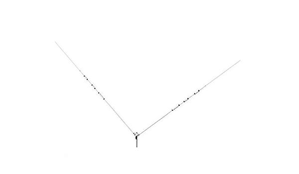 COMET H de 422 40/20/15/10 M banda Trap dipolo kW ...