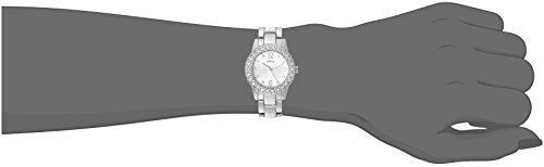 GUESS Women's U0889L1 Petite Silver-Tone Watch