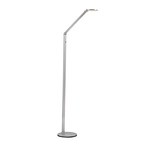 Savoy House 4-2020-NA Fusion LED Floor Lamp with Dimmer in Natural Aluminum For Sale