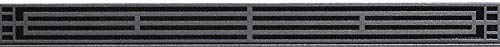 Empire Comfort Systems Mission Louvers DVG3MBL - Matte Black
