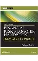 Book Financial Risk Manager Handbook + Test Bank: Frm Part I/Part Ii by Philippe Jorion (2013-01-01)