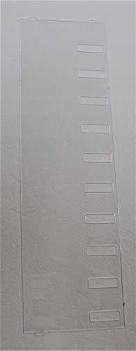 - Desi Plastic Overlay (aka Label Cover) for Toshiba DKT2010-H DKT2010-S DKT2010-SD or Teleco UST-1010DHF UST-1010DSD Phone