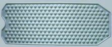 Invacare Supply Group ISG10440 Extra Large Bubble Bath Mat (Bathtub Invacare)