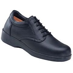 Apex 1270 Men's Ambulator Conform Shoe - Lace Oxford - Black - Size Men's Size 11 - M Width - 1 pair