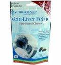Vetri-Liver Feline Bite-Sized Chews, 120 Count, My Pet Supplies