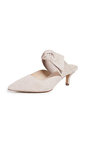 botkier Women's Pina Point Toe Mules, Blush, Off White, 8.5 Medium US