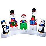 Gemmy Airblown Inflatable Lightshow Carolers
