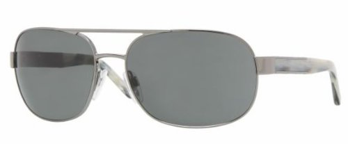 Burberry 3039 100387 GUNMETAL / GRAY Designer Unisex Sunglasses by BURBERRY